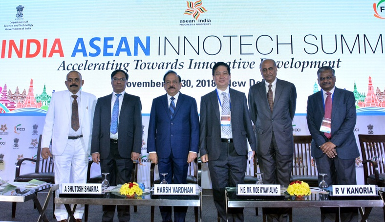 First Ever Indian – ASEAN Innotech summit held in Delhi by Union Minister of Science & Technology and Earth Sciences