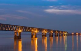 The Bogibeel – India's Rail cum Road Bridge built across Brahmaputra – is opened for public