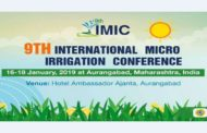 9th International Micro irrigation conference begins in Aurangabad today