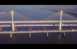 Cable Stay Bridge over River Mandovi in Goa