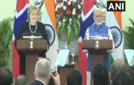 """India and Norway ink MoU on """"Blue Economy"""" and """"Sustainable Development Goals"""""""