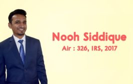 INTERVIEW WITH NOOH SIDDIQUI