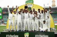 India's First-Ever Test Series Win In Australia