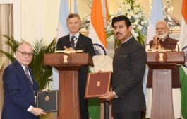 10 MOUs have been signed between India and Argentina