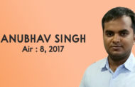 An Interaction with UPSC Topper Mr. Anubhav Singh