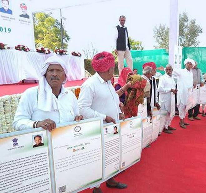 Rajasthan rolls out agri loan waiver