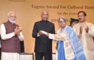 Tagore Award for Cultural Harmony in national 2019