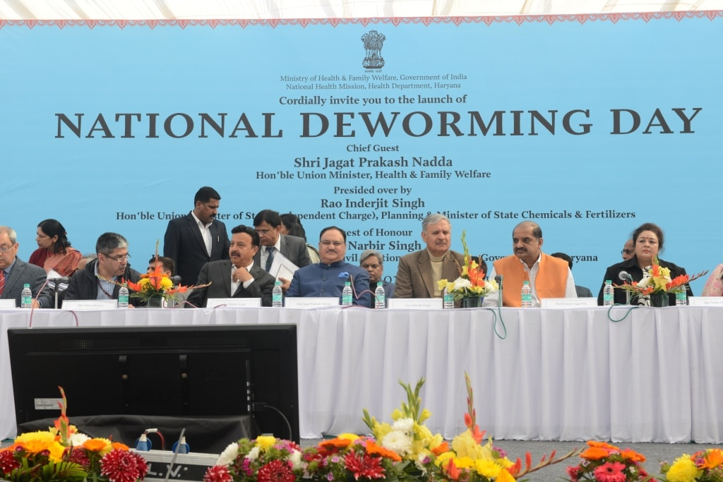 National Deworming Day conducted on 10th February, 2019 across the country by Health and Family Welfare Ministry