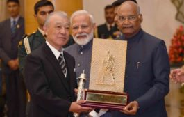 President of India presents Gandhi Peace Prize