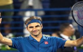 Roger Federer won his 100th ATP Tour title