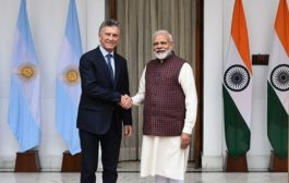 Antarctic cooperation between India and Argentine