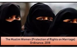 Muslim Women (Protection of Marriage) Ordinance, 2018