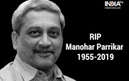 Goa Chief Minister Manohar Parrikar passes away at 63