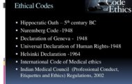 Medical Ethics Code