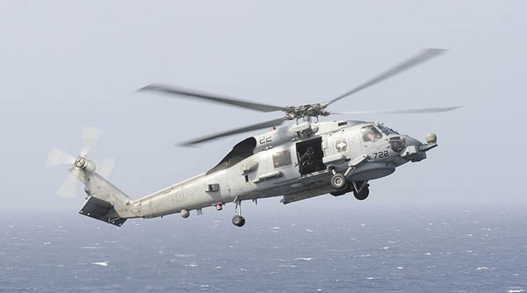 US to give 24 MH 60 Romeo Seahawk helicopters to India