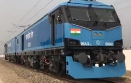 India's first indigenous electric locomotive rolled out