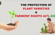 The Protection of Plant Varieties and Farmers' Rights Act