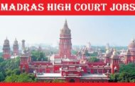 SYLLABUS FOR MADRAS HIGH COURT VARIOUS POST 2019