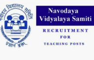 RECRUITMENT IN NVS VARIOUS POST ONLINE FORM 2019