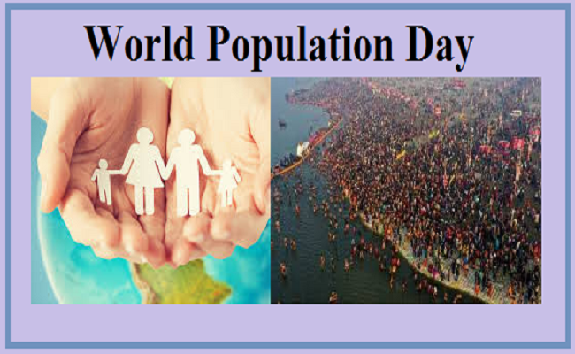 World Population Day - 2019 is observed today on 11th July