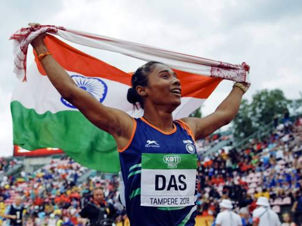 Hima Das wins second international gold