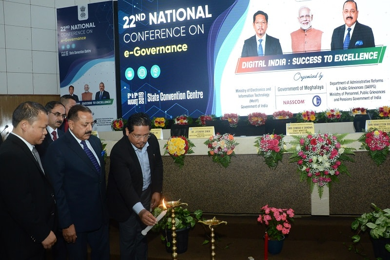 """""""Shillong Declaration"""" adopted E- Governance  at 22nd National Conference on e-Governance"""