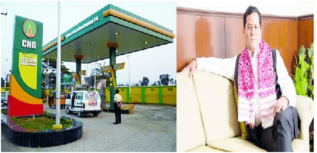 Assam gets its first-ever CNG fuel station in Dibrugarh