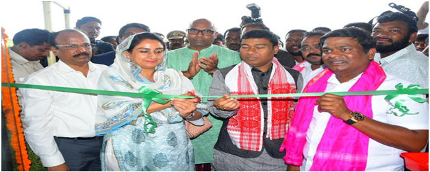 Harsimrat Kaur Badal Inaugurates First Mega Food Park in Telangana
