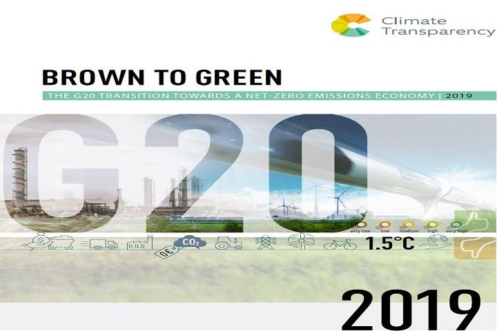 Brown to Green Report 2019: Performance of G20 countries on Climate Change
