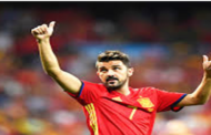 Spain's striker David Villa retires from football