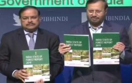 """""""India State of Forest Report 2019"""" has been released By Union Ministry for Environment Forest and Climate"""