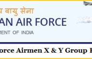 RECRUITMENT IN INDIAN AIR FORCE AIR FORCE GROUP X / Y ONLINE FORM 2020