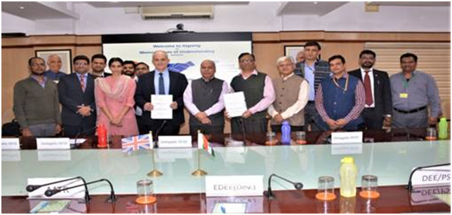 Railways signs MoU with DFID for cooperation in field of energy efficiency