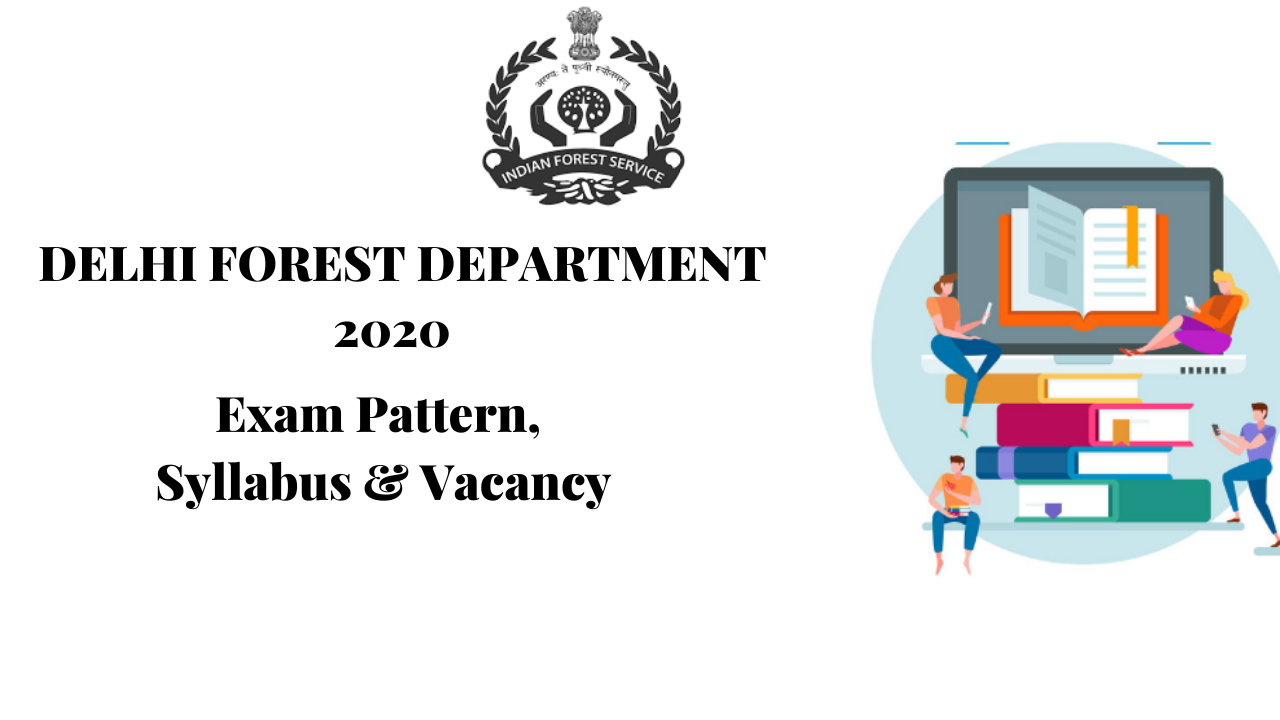 RECRUITMENT IN DELHI FOREST DEPARTMENT ONLINE 2020
