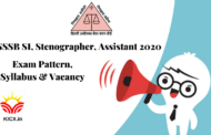 SYLLABUS FOR DSSSB SI, STENOGRAPHER, ASSISTANT 2020