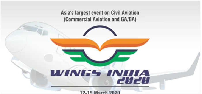 Wings India 2020' to be held at Begumpet Airport Hyderabad in March 2020