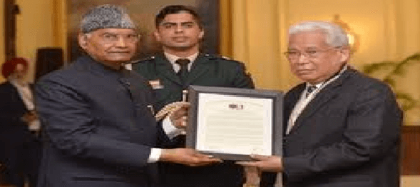 Prez Ram Nath Kovind presents International Gandhi Awards for Leprosy