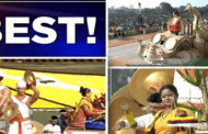 Assam tableau wins first prize at 71st Republic Day parade