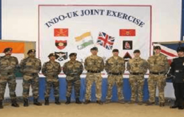 India- England Joint Military Exercise AJEYA WARRIOR 2020 begins in UK