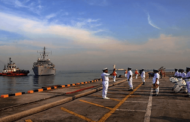 INS Jamuna progresses joint hydrographic operations off Sri Lanka