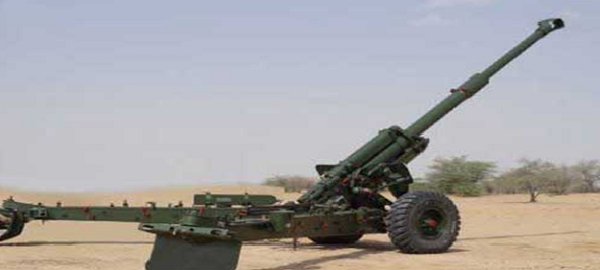 Army gets upgraded 155mm artillery gun at DefExpo