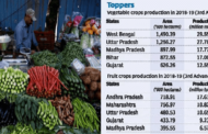 West Bengal emerges at the top in vegetable production