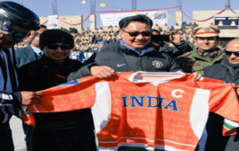 Kiren Rijiju inaugurates 1st Khelo India Winter Games in UT Ladakh