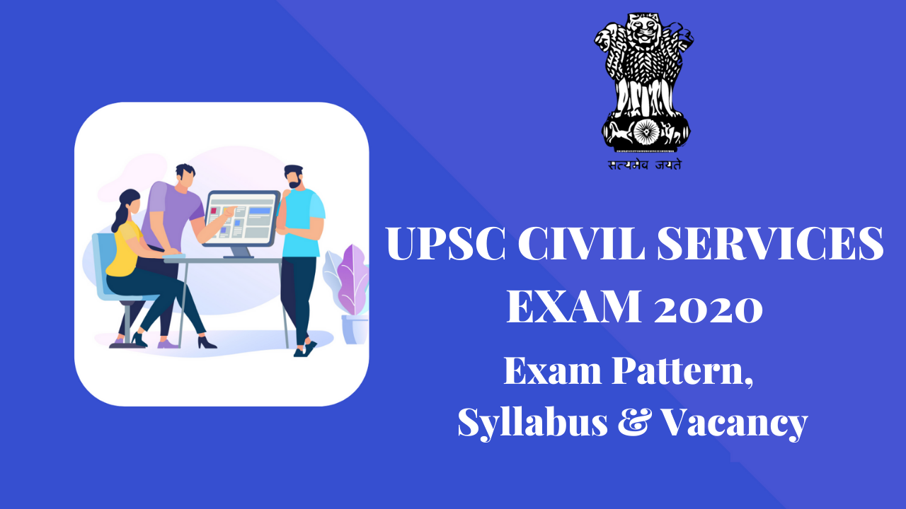 RECRUITMENT IN UPSC CIVIL SERVICES IAS/IFS ONLINE FORM 2020