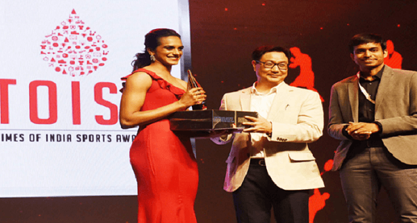 Times of India Sports Awards (TOISA) 2019 function held in New Delhi