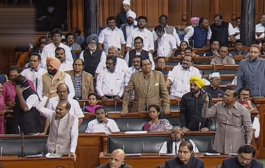 7 Congress MPs suspended from Lok Sabha