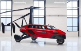 World's first commercial flying car named 'PAL-V Liberty' will be developed in Gujarat