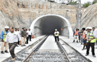 Longest electrified railway tunnel in India commissioned