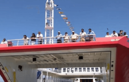 'Ropax'' ferry service launched between Mumbai and Mandwa