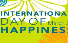 International Day of Happiness: 20 March